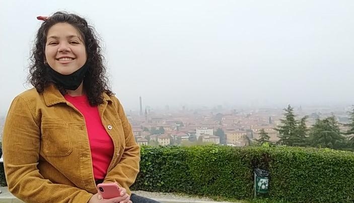 Vista su Bologna dalla terrazza di san michele in bosco